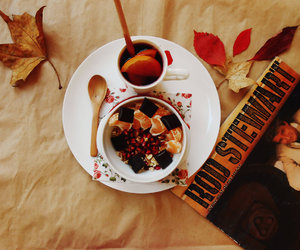 autumn, food, and october image