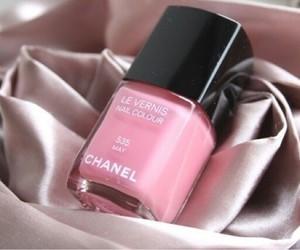 chanel, girl, and pink image