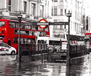 beautiful, bus, and car image
