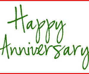 happy anniversary, wedding anniversary, and happy anniversary cards image