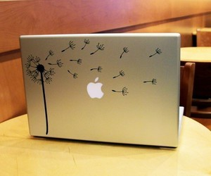 decoration and macbook image