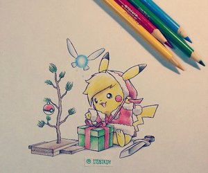 pokemon, pikachu, and itsbirdy image