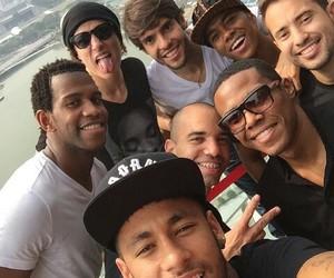 neymar, david luiz, and kaka image
