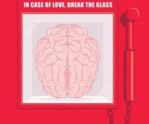 love, brain, and funny image