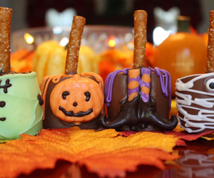 Halloween, fall, and candy image