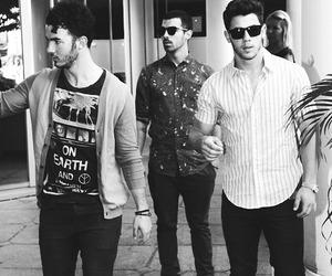 jonas brothers, nick jonas, and Joe Jonas image