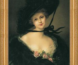 19th century, art, and beauty image
