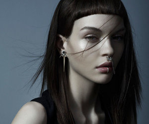 piercing, model, and kate bogucharskaia image