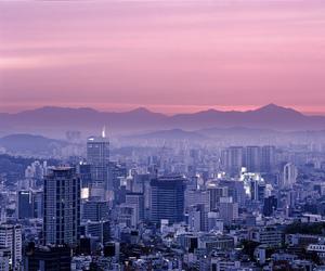 city, asia, and korea image