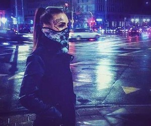city, night, and monami frost image