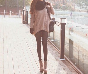 cute shoes, fashion, and fall outfit image