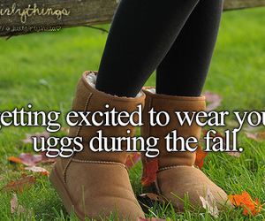 fall, uggs, and boots image