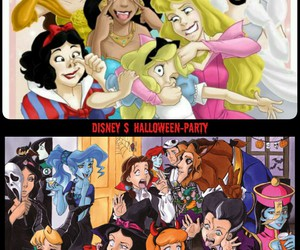 crazy, disney, and Halloween image