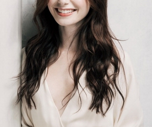 lily collins, actress, and smile image