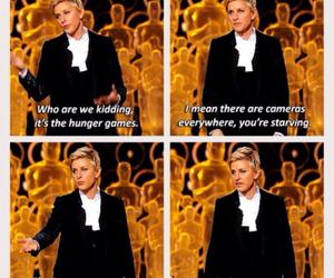 oscar, Jennifer Lawrence, and the hunger games image