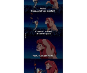 past, lion king, and disney image