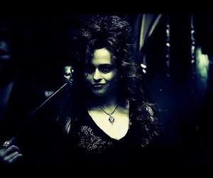 bellatrix lestrange, daniel radcliffe, and draco malfoy image