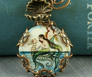 mermaid and pendant image