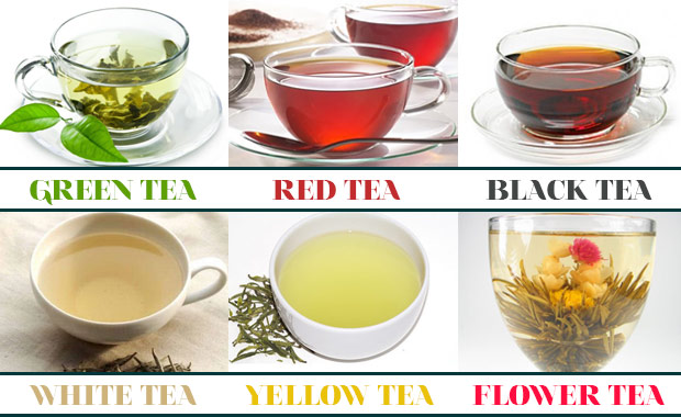 Types Of Tea Uploaded By Maddie On We Heart It