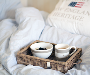 bed, coffee, and breakfast image