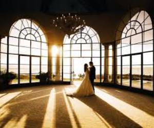 couple, wedding, and princess image