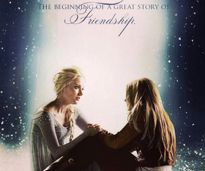 once upon a time and elsa image