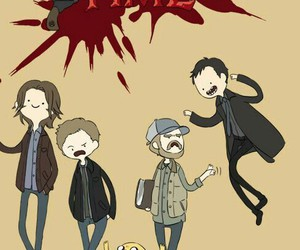 supernatural and adventure time image