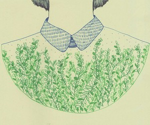 art, hipster, and plants image