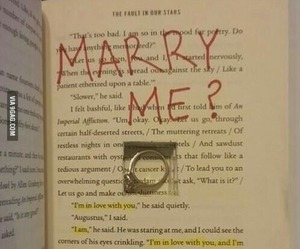 ring, book, and proposal image