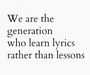 generation, lessons, and quote image