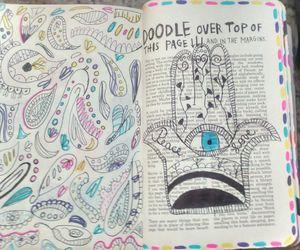 doodle, fun, and keri smith image