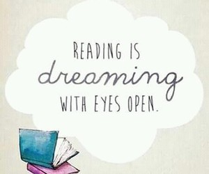 book, reading, and dreaming image