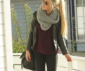 autumn, outfit ideas, and boots image