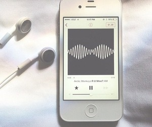 music, arctic monkeys, and iphone image