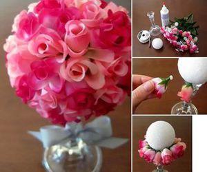 flowers, tutorial, and diy image