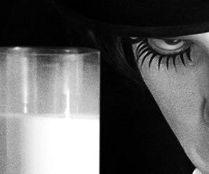milk, a clockwork orange, and alex delarge image