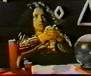 occult, vhs, and low resolution image