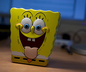 photography and spongebob image