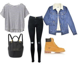 boots, denim, and jacket image