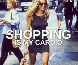 cardio, carrie, and SexAndTheCity image