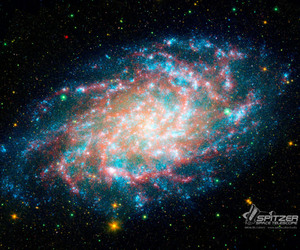 galaxy, infinite, and space image