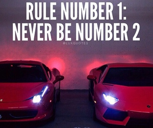 quote, rules, and car image