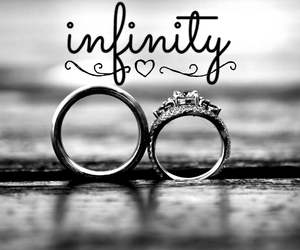 black&white, forever, and marriage image