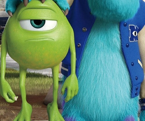 mike, disney, and sulley image