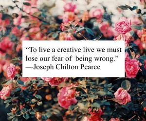 quote, creative, and fear image