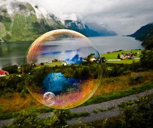 nature and bubble image