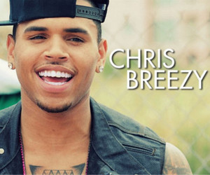 breezy, chris brown, and laugh image