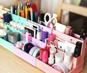diy, pink, and school image
