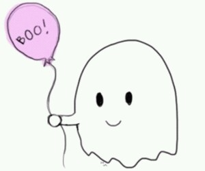 ghost, Halloween, and boo image