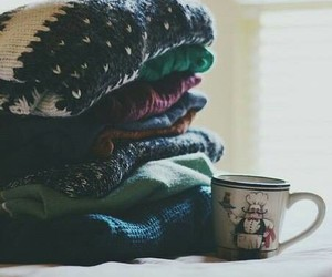 sweater, winter, and cold image